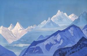 Guru-Guri Dhar - Nicholas Roerich, 1931